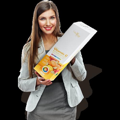 NICS probiotikus termékek - NICS C-vitamin + D-vitamin + Csipkebogyó + Acerola