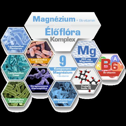 NICS probiotikus termékek - NICS Magnézium + B6-vitamin