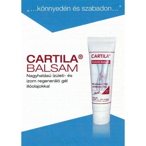 Cartila Balzsam - Bemelegítő és regeneráló gél